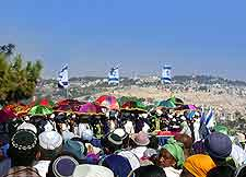 Seasonal photo of Israeli celebration