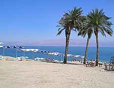 Image of the Ein Gedi beachfront