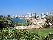 Tel Aviv coastal view