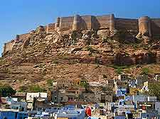 Picture of the Mehrangarh Fort (Majestic Fort)
