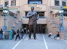 Johannesburg photograph of Mandela Square