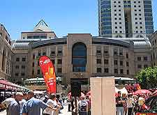 Different view of Mandela Square