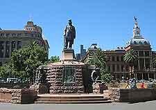 Different view of Pretoria city centre