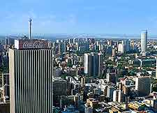 Photo of the Johannesburg skyline