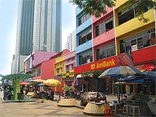 View of the Jalan Wong Ah Fook, photo by Terence Ong