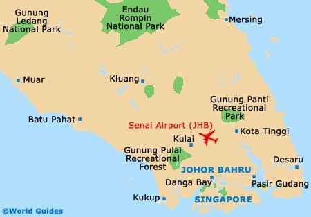 Small Johor Bahru Map