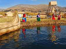 Further summer view of Lake Titicaca