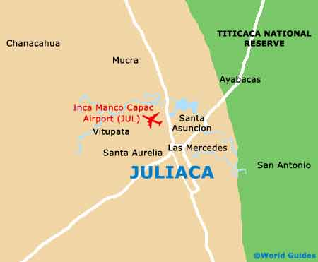 Small Juliaca Map