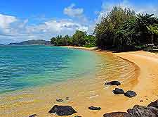 Anini Beach photograph