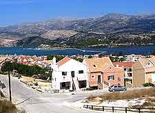 Aerial view of Argostoli