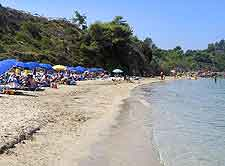 Argostoli beach view