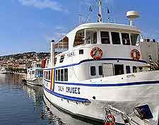 Kefalonia Tourist Attractions: Cruise boat photo
