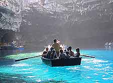 Picture of the Melissani Cave