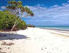 Diani beachfront view
