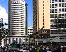Photo showing the Hilton Hotel in Nairobi