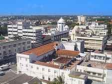 Mombasa aerial view