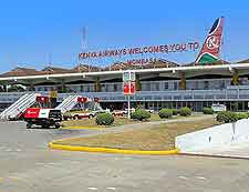 Image of the Moi International Airport (MBA) in Mobasa