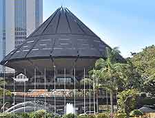 View of Nairobi's Kenyatta International Conference Centre (KICC)