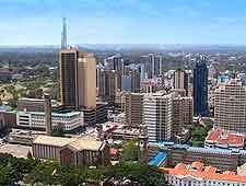 Nairobi skyline picture