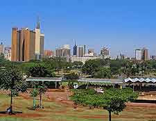 Skyline view from Uhuru Park