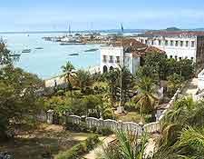 View of Stone Town, Zanzibar