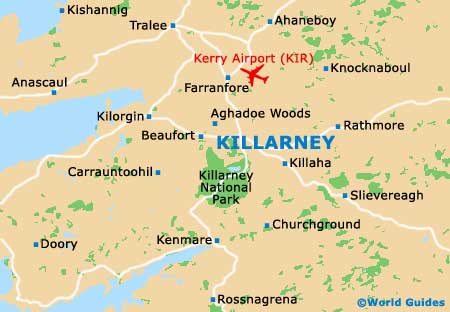 Small Killarney Map