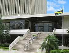 Photo showing the Museum of Coins and Notes / Bank of Jamaica