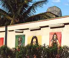 Picture of the Bob Marley House