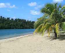 Beachfront image taken at nearby Port Antonio