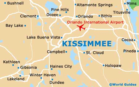 Small Kissimmee Map
