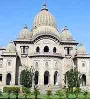 Further view of the Belur Math Shrine