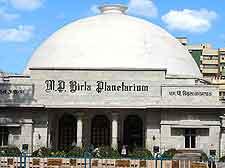 View of the MP Birla Planetarium