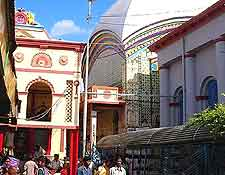 Photo showing the Kalighat Kali Temple