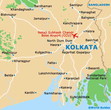 Small Kolkata Map