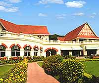 Exterior of the Royal Calcutta Golf Club (RCGC)