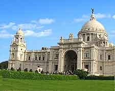 View of the Victoria Memorial
