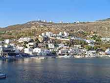 Waterfront picture of Leros