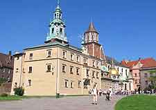 Photo of the Royal Castle at Wawel