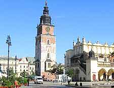 View of the Krakow Town Hall (Wielkopolskich Palace)