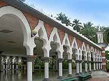 View of Jame Mosque (Masjid Jame)