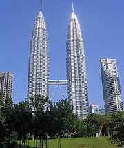 Photograph of the iconic Petronas Towers