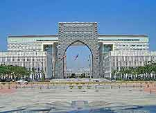 Picture of central Putrajaya