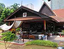 Picture of popular city restaurant