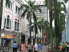 Picture of stores in the city centre
