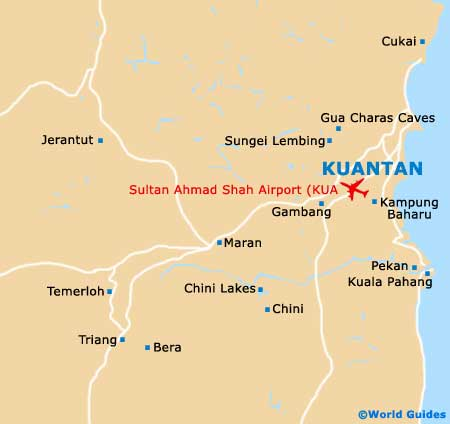 Small Kuantan Map