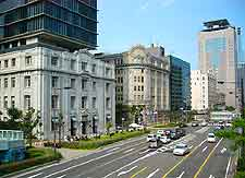 View of central Kobe