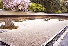 View of Zen Garden at the Ryoanji