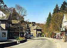 Photo showing the village of Grasmere, Lake District, England