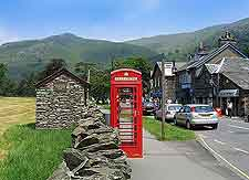 Photo of road in central Grasmere