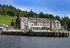 Photo of waterfront lodging